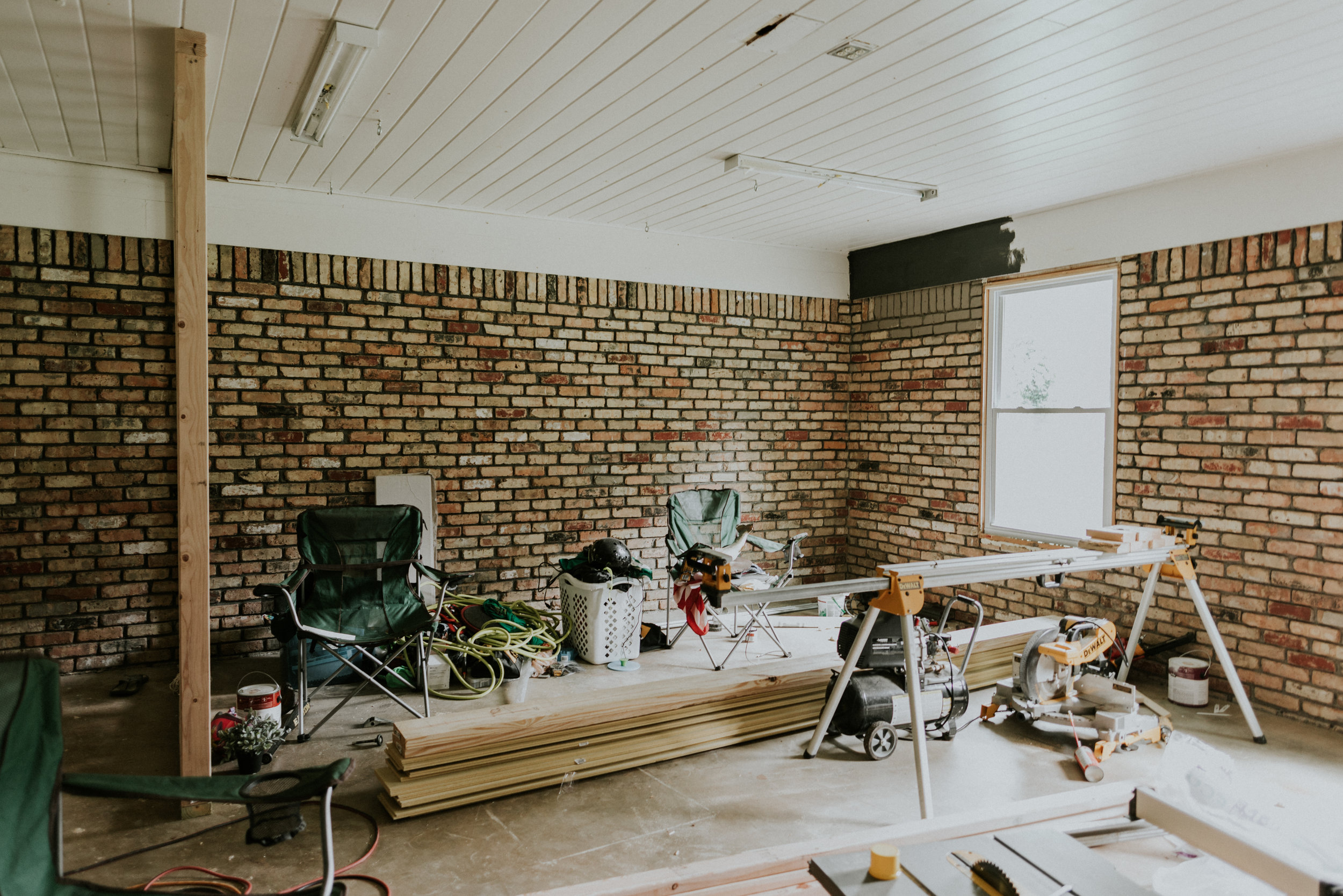Converting your garage into a livable space