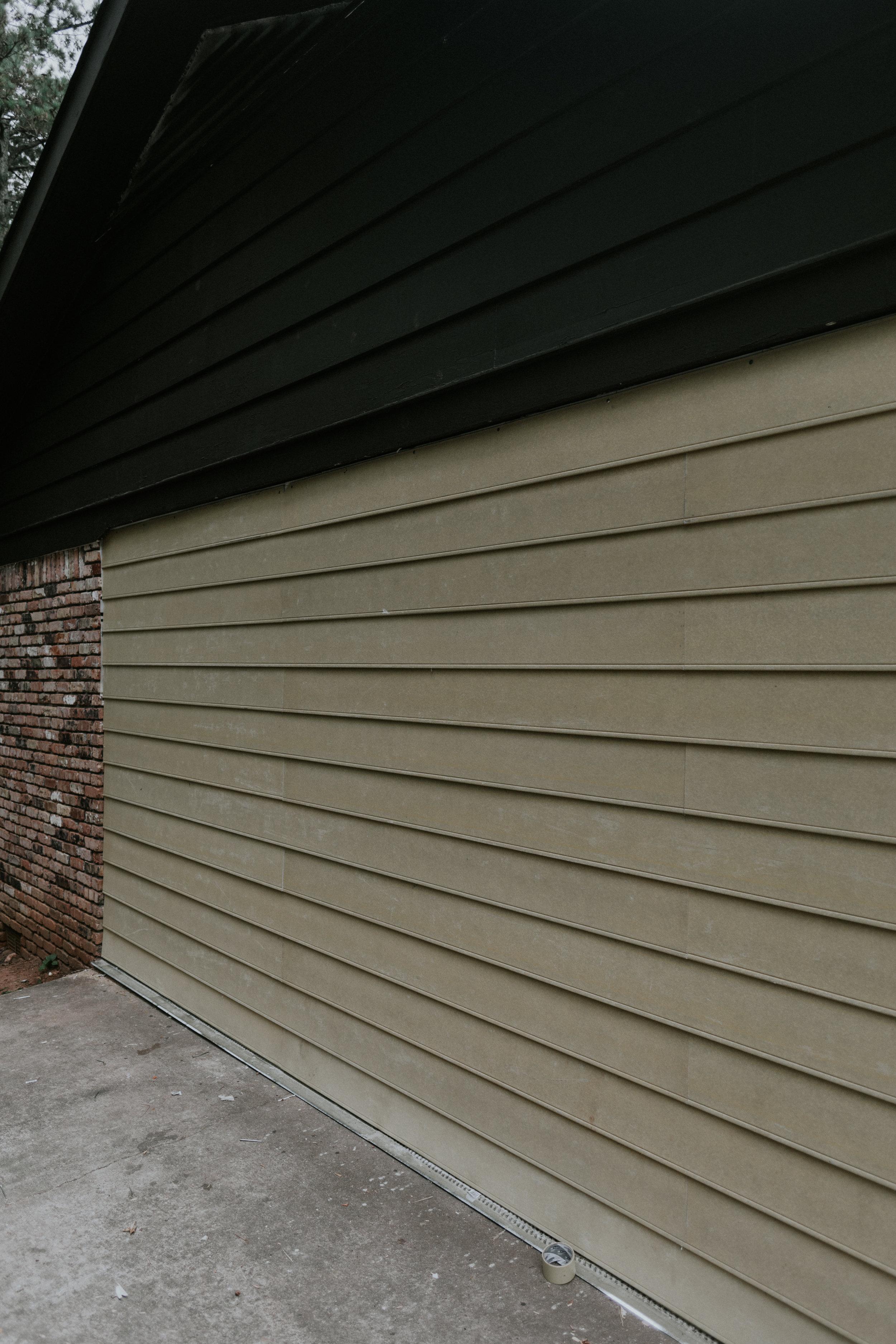 James Hardie plank install