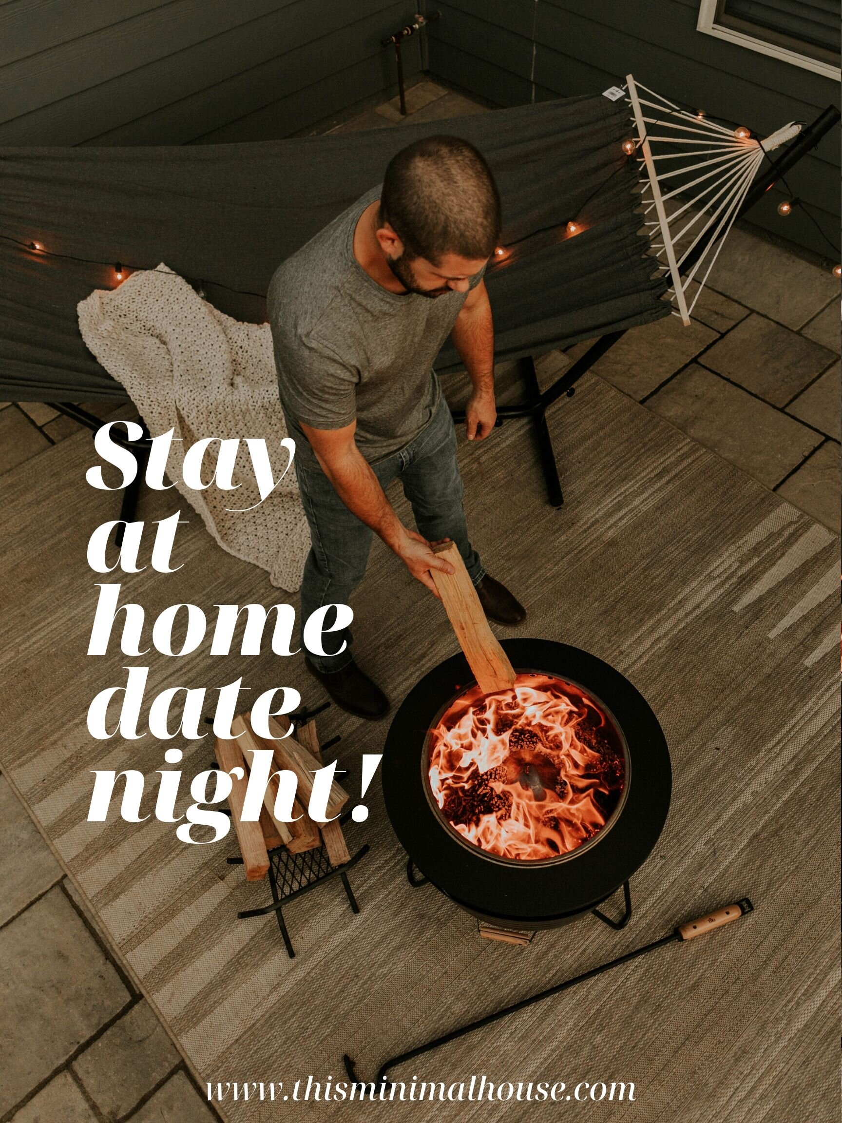 Date night ideas for your backyard