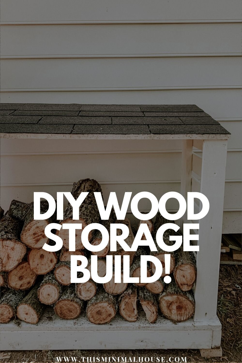 DIY wood storage build
