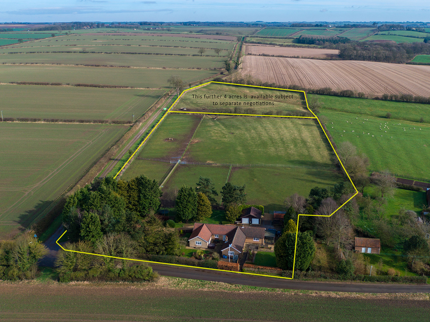 aerial view for estate agent