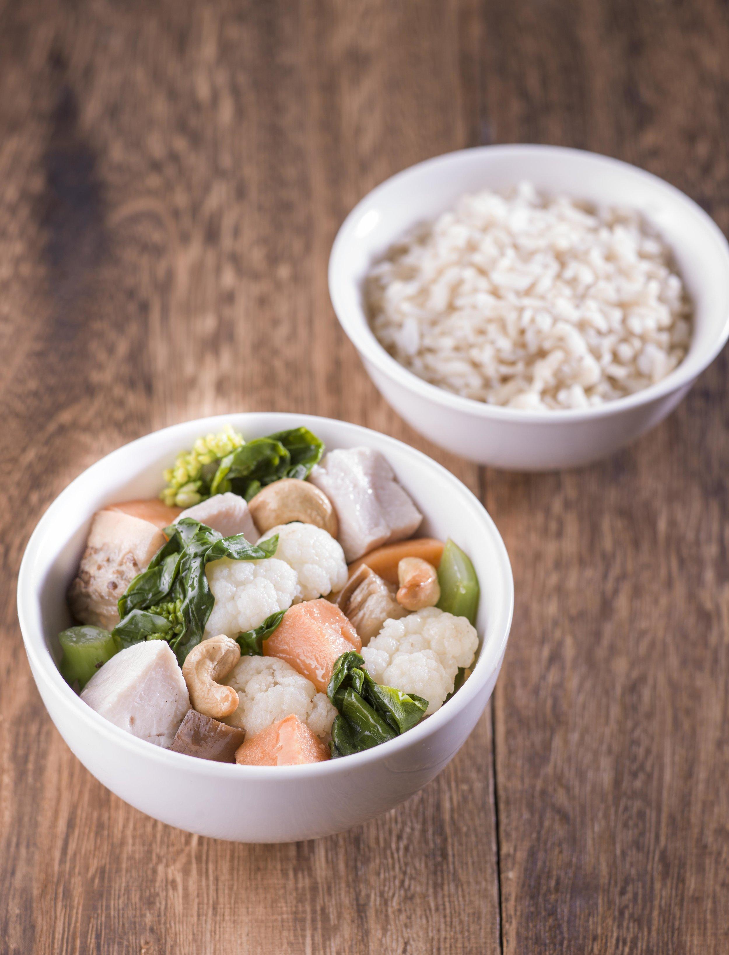 Coconut Chicken w Brown Rice & Veggies.jpg