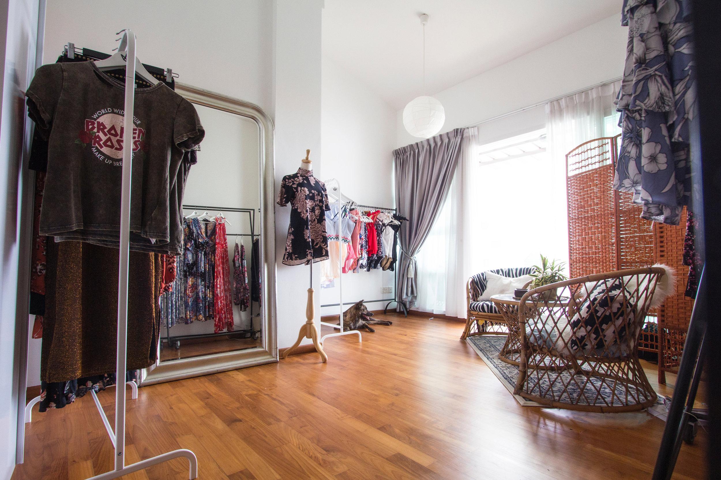The WYLD Shop Showroom