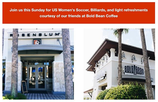 ICYMI: We announced our new summer hours - just in time for the Women's World Cup Finals ⚽️🏆🇺🇸 Hangout with us this and every Sunday this summer from 11 am - 4 pm!