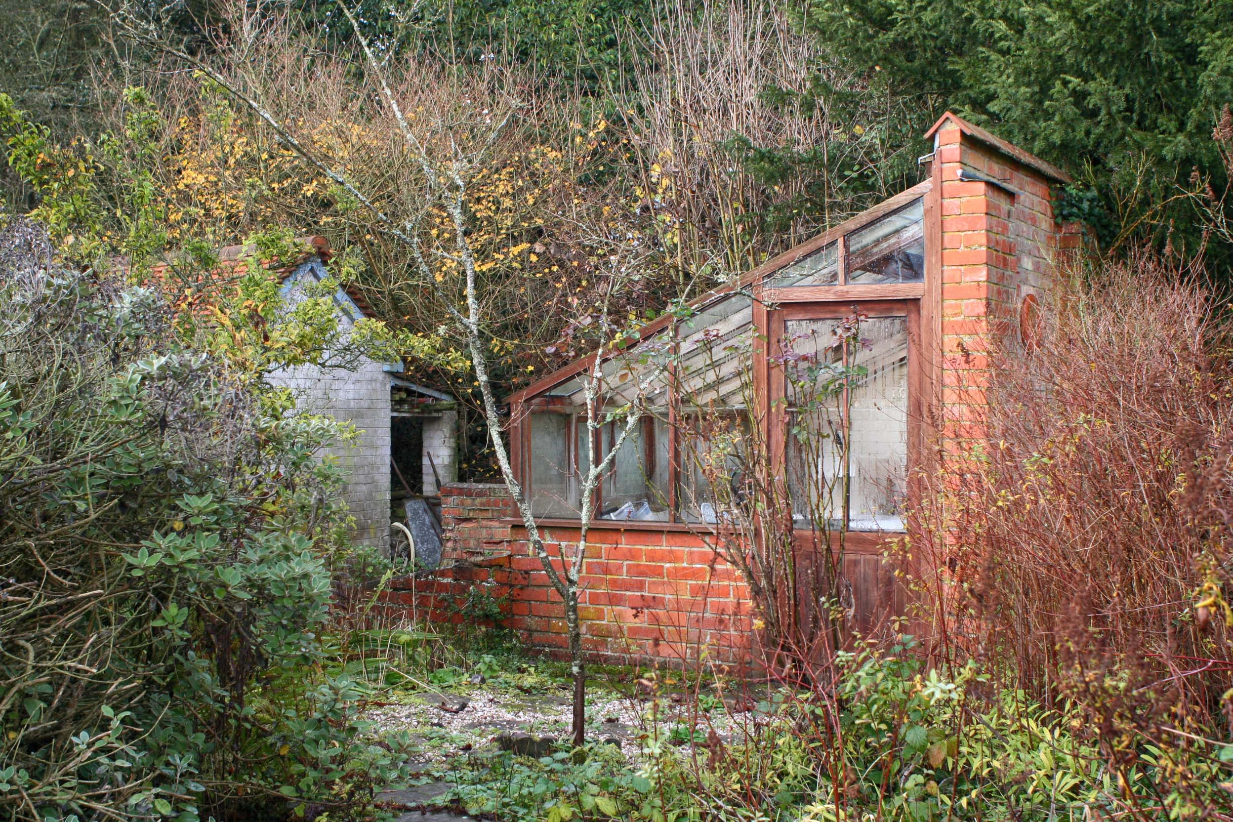 Existing green house before