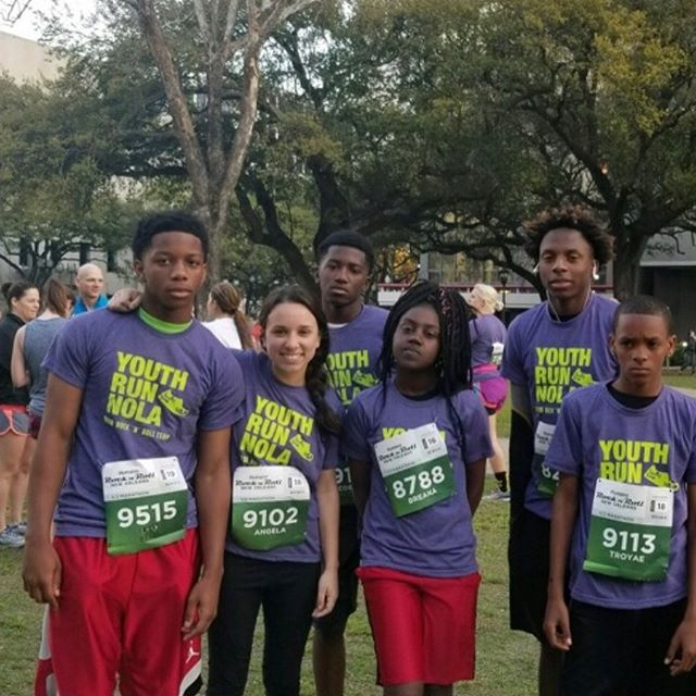 Our Youth Run NOLA team of eighth graders and Charger alums took on the Rock and Roll Half Marathon (13 miles) this morning! Congrats to the team and coach Filardo for all the work that went into preparing for today. #scitech #chargers #alumni #chargerpride #halfmarathon #rockandrollmarathon #youthrun #youthrunnola #renew