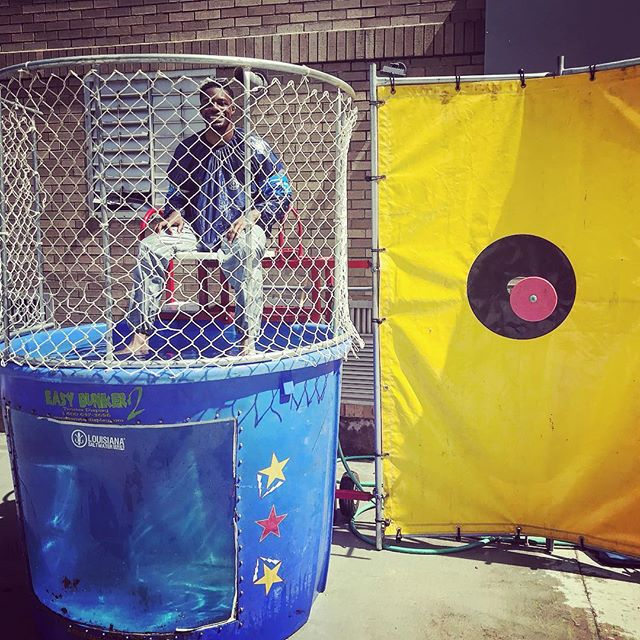 Scholars in PK-8 who performed highest or grew the most on benchmark 5 earned the opportunity to dunk Mr. Davis. Let's just say he might not be dry until spring break is over. Have a safe break and we will see everyone back on April 2nd! #scitech #scitechnola #dunktank #hardwork #growth #enthusiasm #chargers