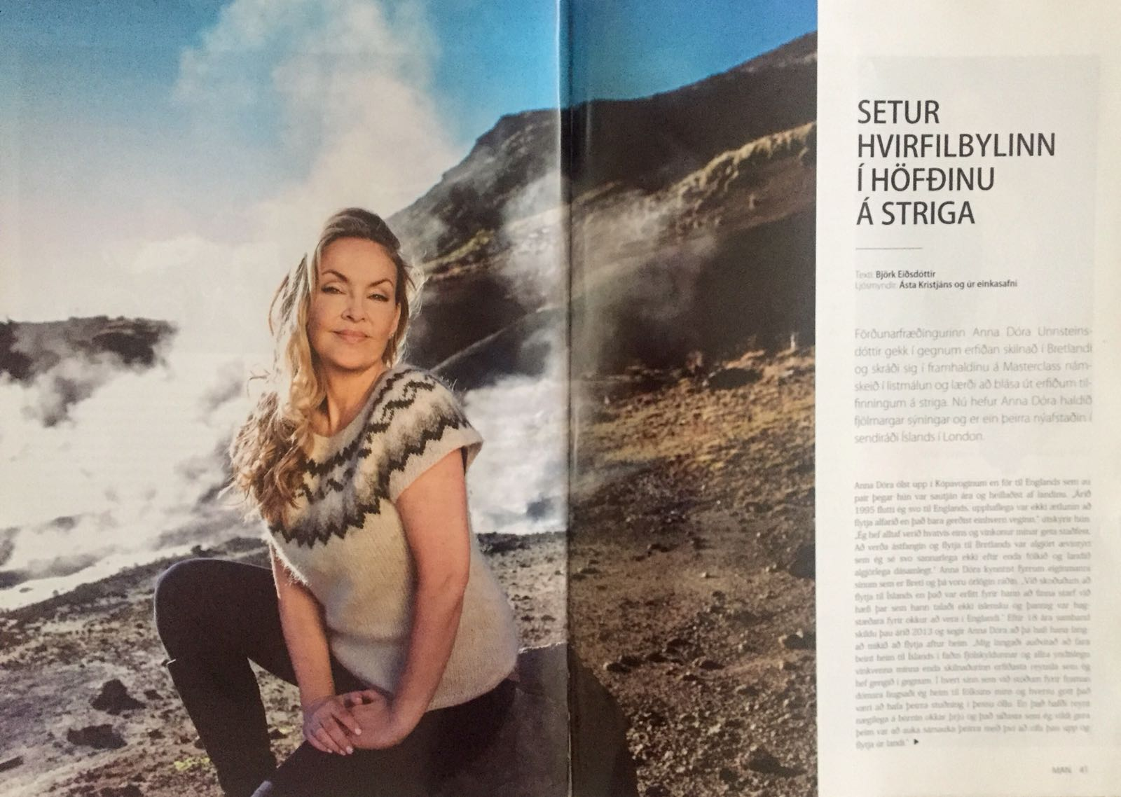 MAN Magazine - Anna Dora feature