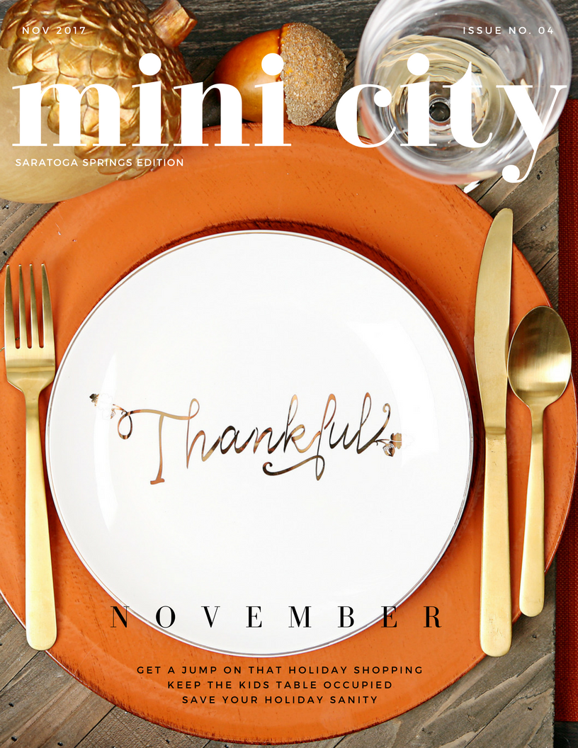 click here for info on the November Issue... -