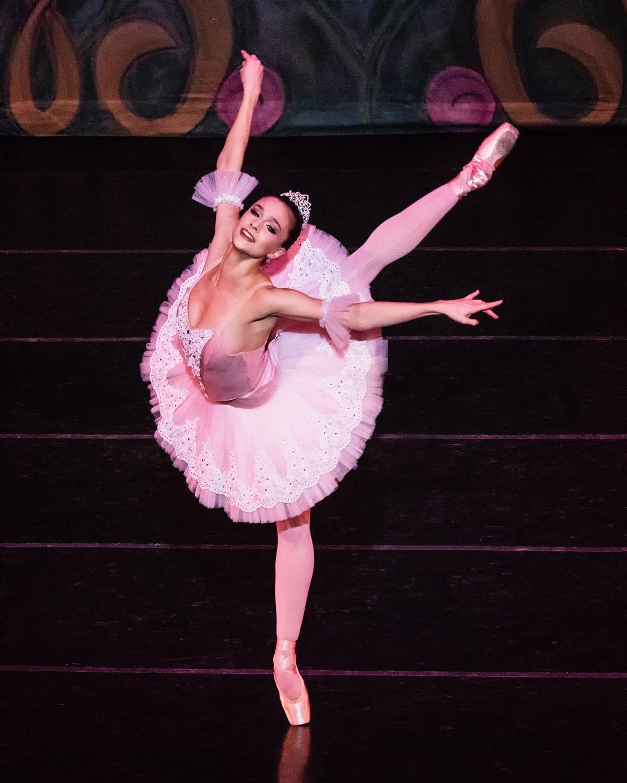 New York City Ballet principal dancer Lauren Lovette