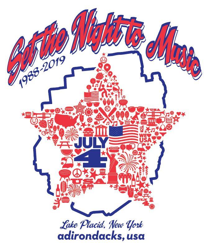 """Set the Night to Music"" - Lake Placid 4th of July Celebration"