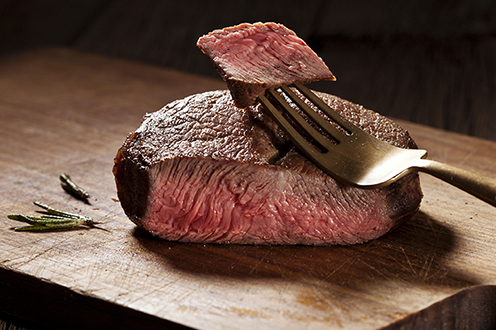 Beef - We feature the finest selection of steaks, patties, ribs, roasts, and ground. Choice and prime, hand selected and cut daily, featuring Double R Ranch and Knee Deep grass fed beef.