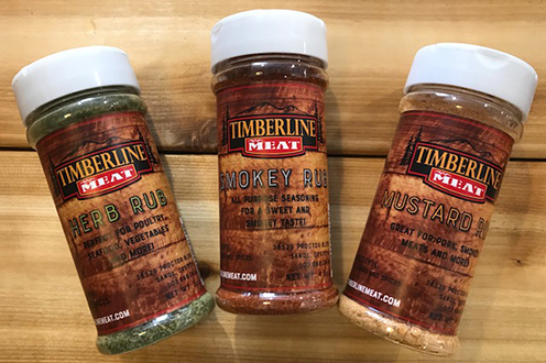Gourmet Grocery - We carry a wide variety of sauces, rubs, seasonings and spices, with a focus on local providers. We even have our own line of rubs!