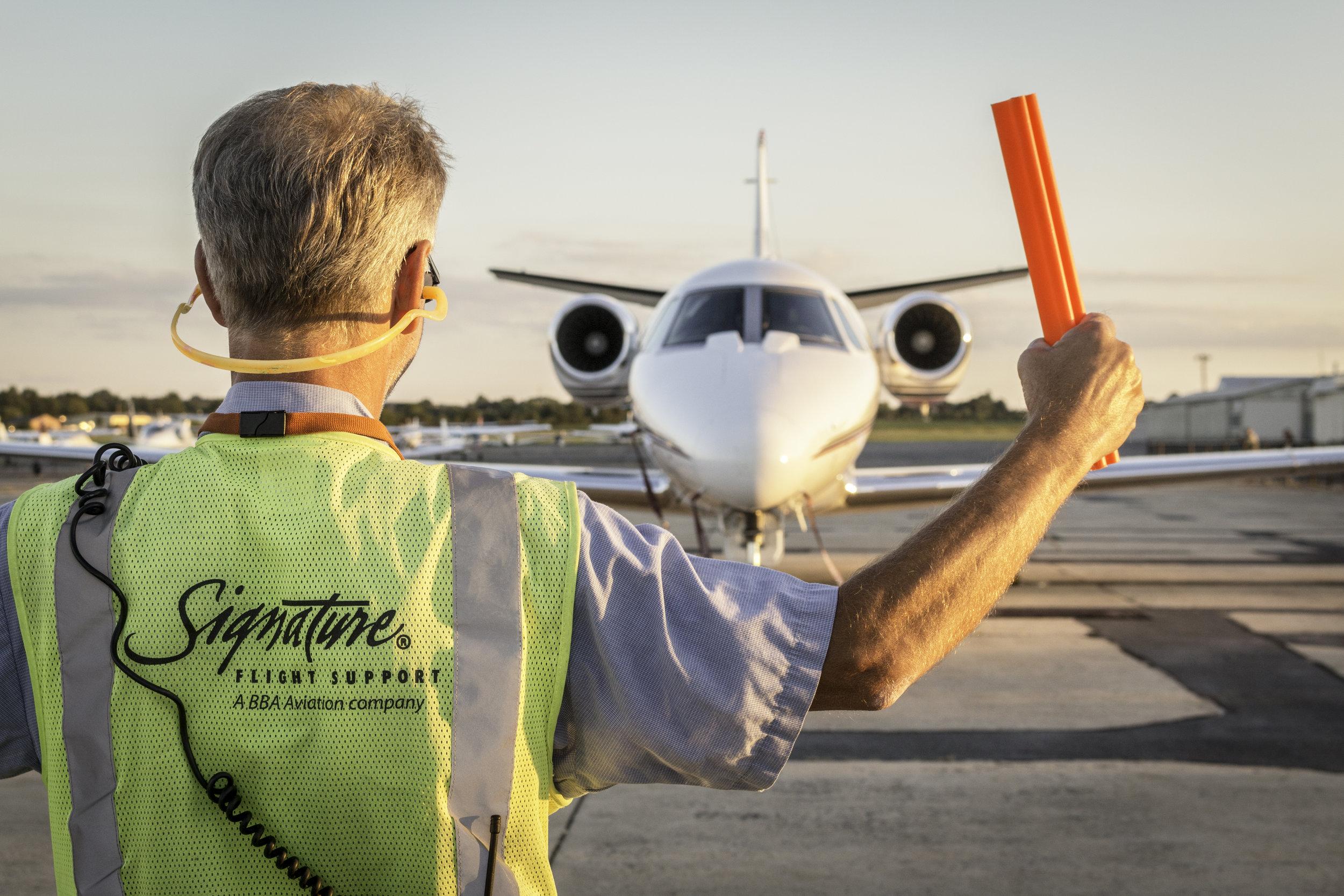 First Class Amenities - FDK offers the amenities flight departments demand:· Control Tower & Class