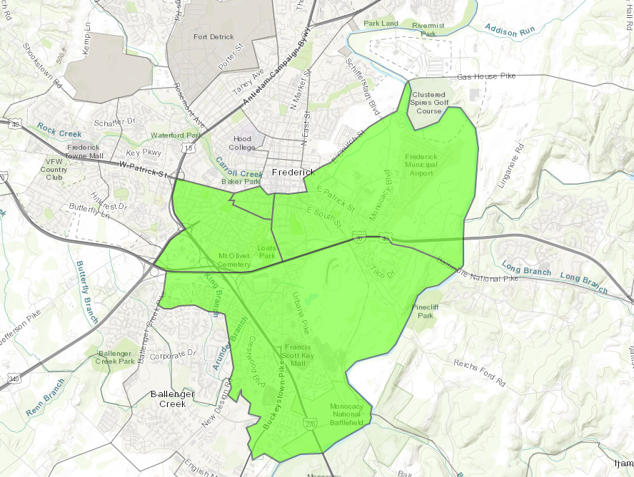 Frederick Opportunity Zones.png