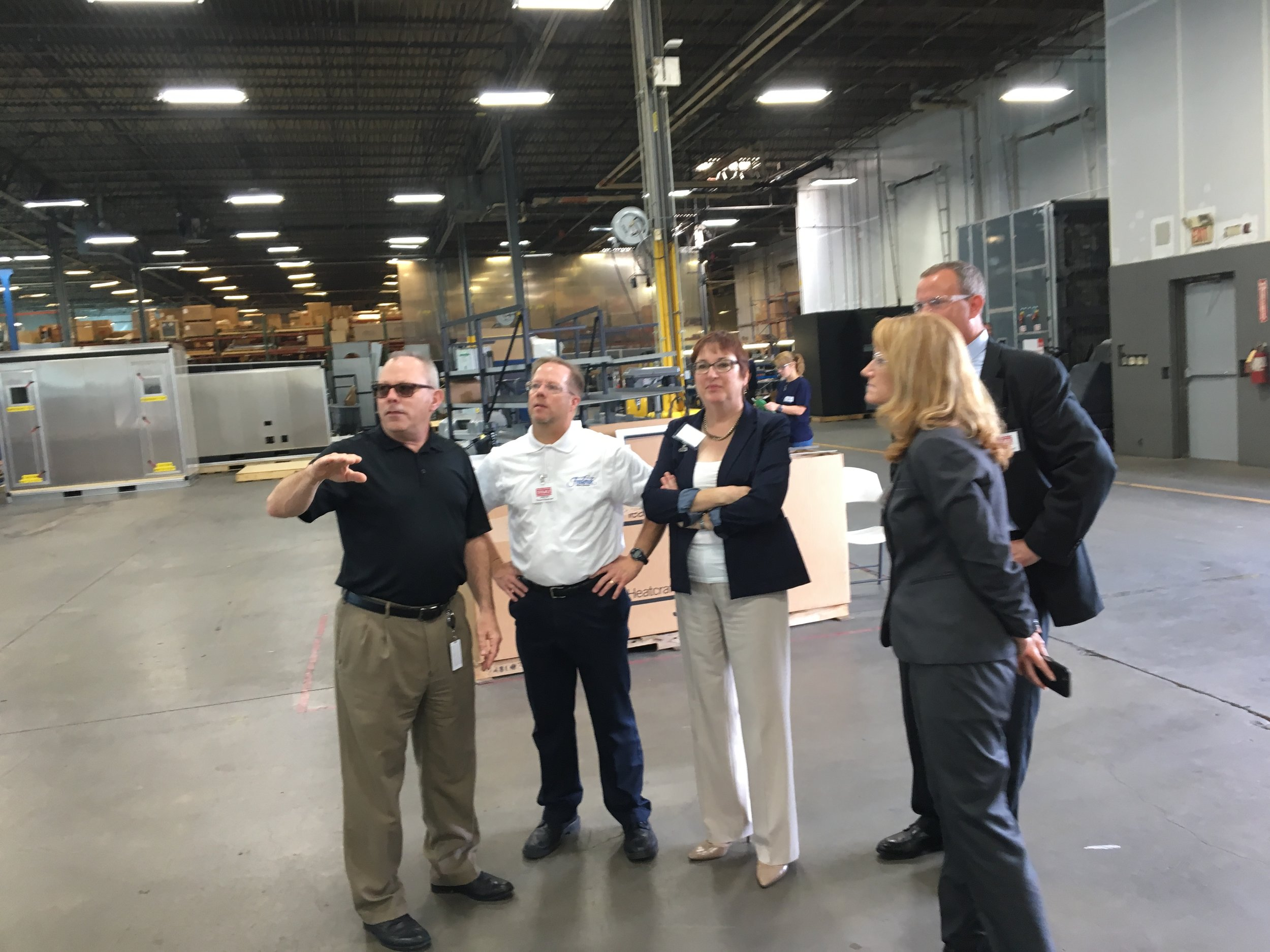 City, County and State reps touring Stulz- ATS