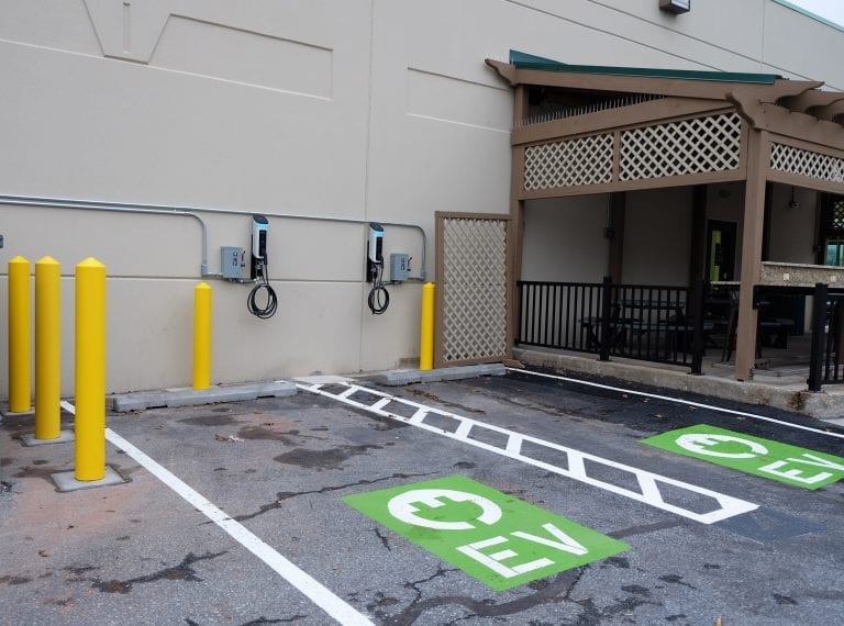 Charging Stations at Route 85 Location