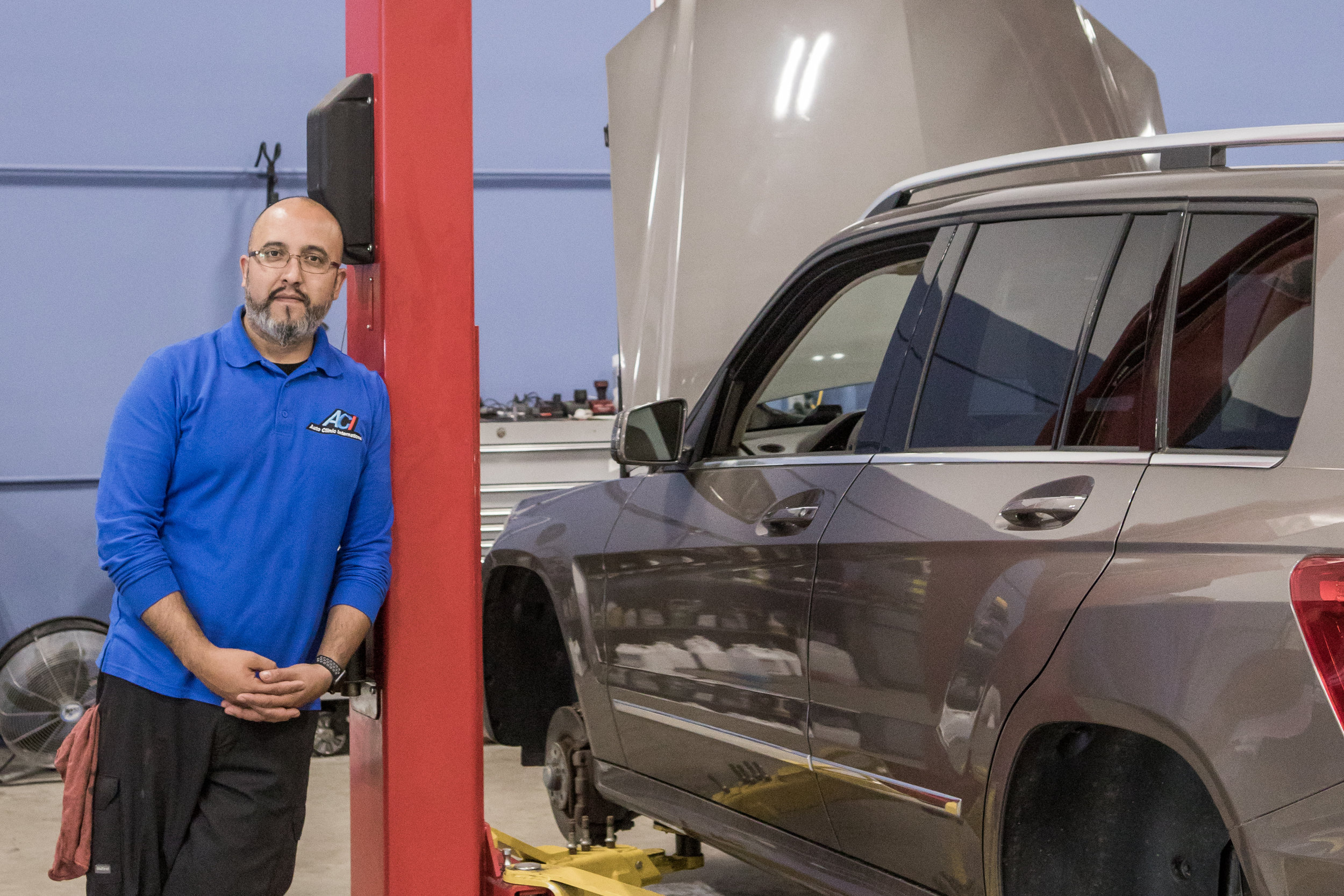 Edgar first discovered his passion as soon as he started working as an auto mechanic.