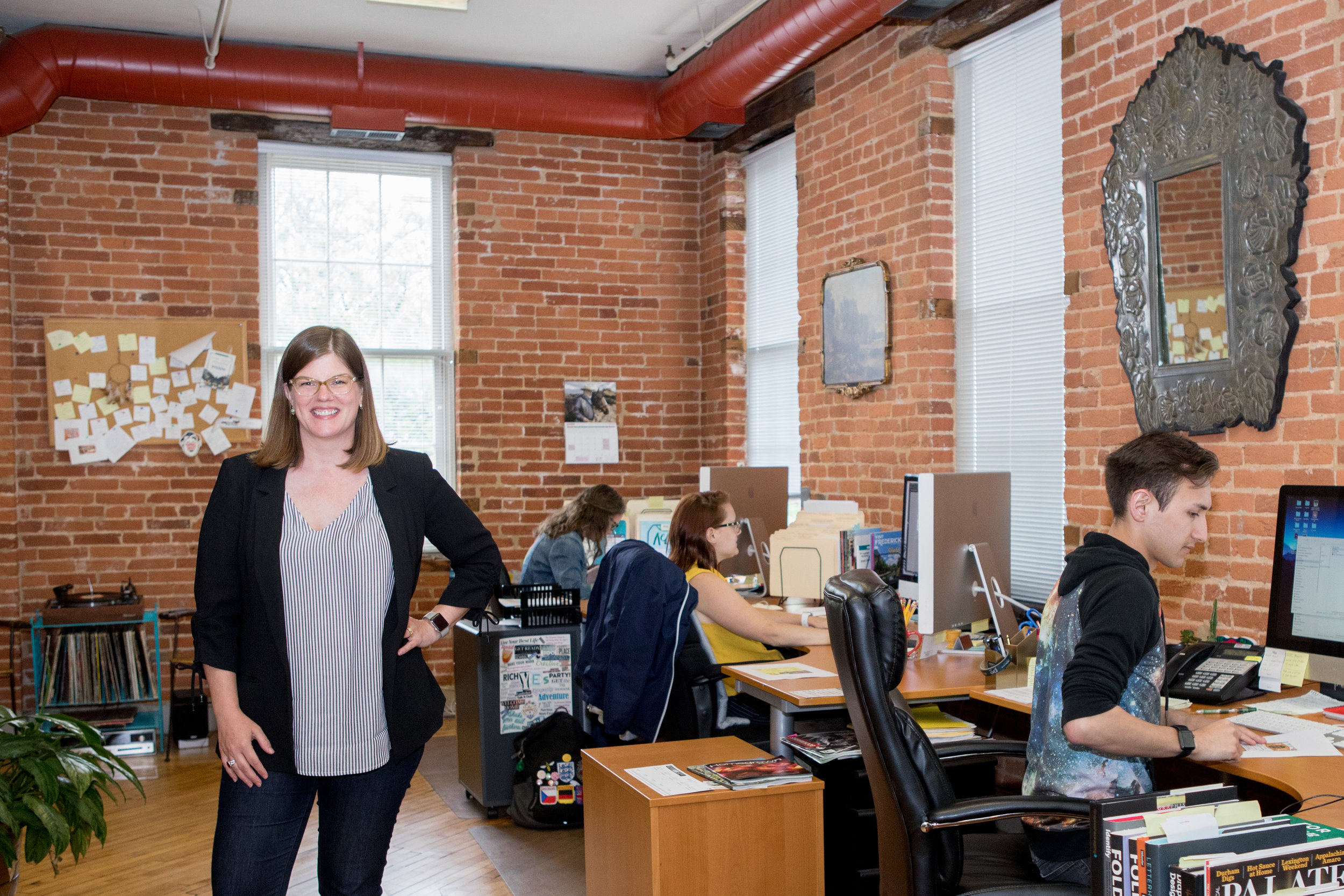 After working in the world of graphic design for over two decades, Emily Dorr has put her entrepreneurial skills to work at Postern Agency.