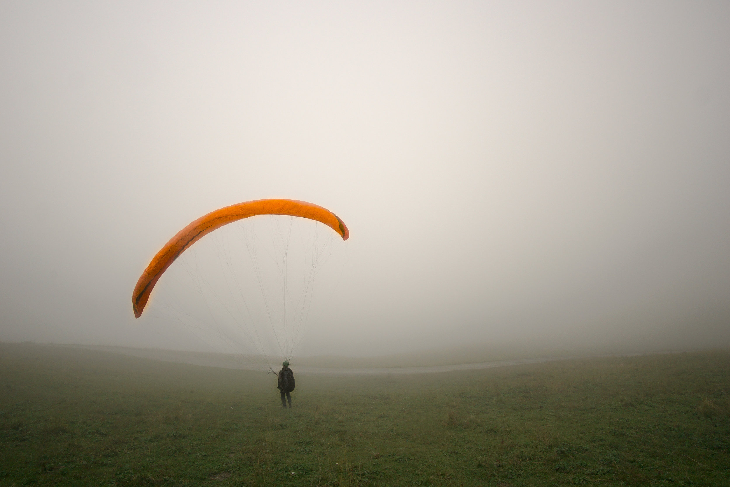 Andreas in the fog
