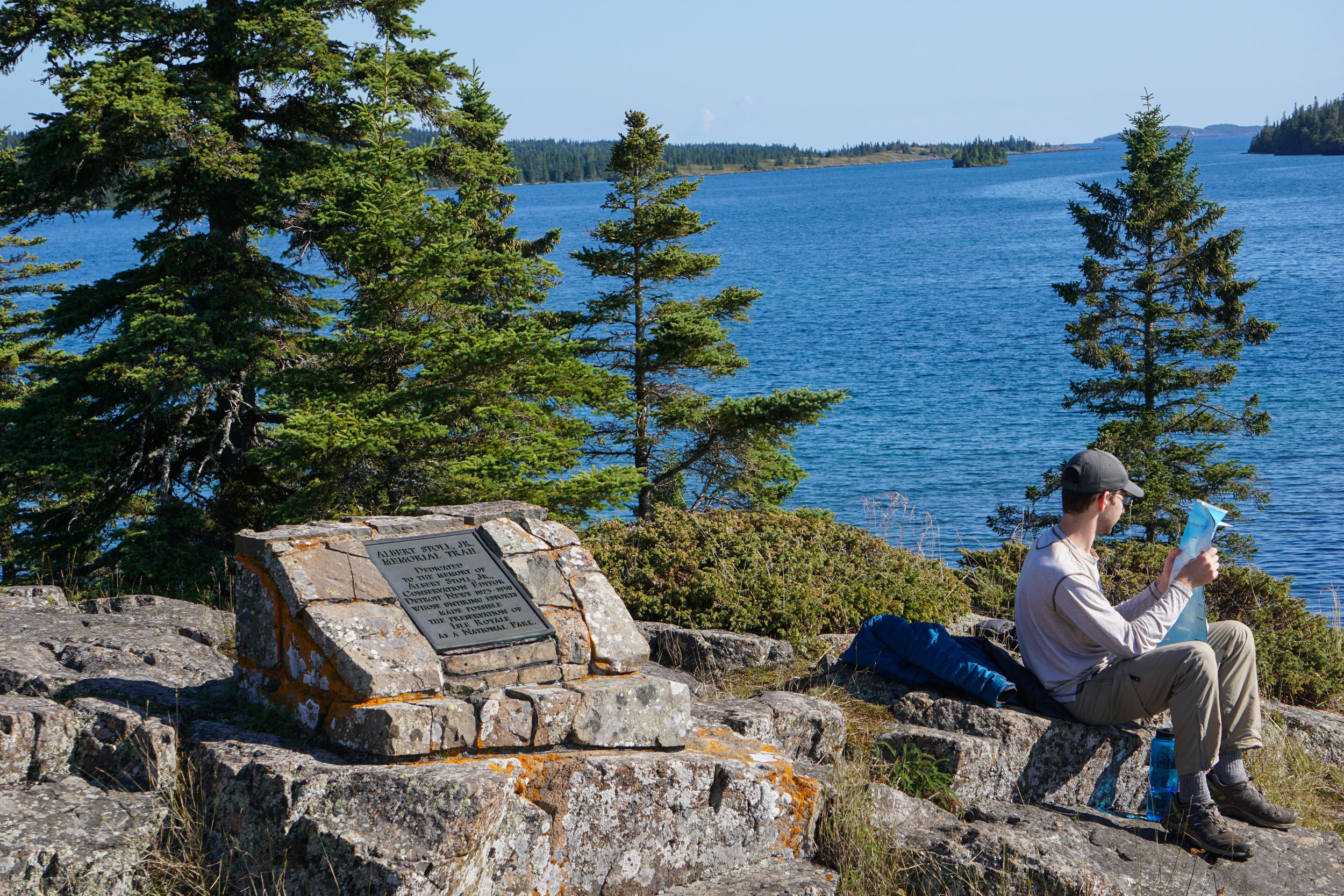 Hanging out at Scoville Point