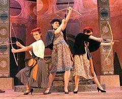 Rachel Tkaczyk, Olivia Johnson & Charlotte Northeast (Love's Labors Lost, 2007)
