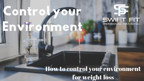 Control your environment for weight loss