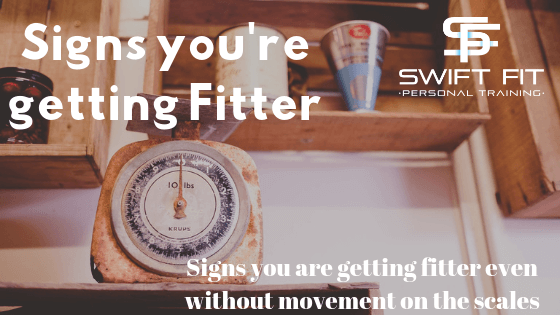 getting fitter without movement on the scales