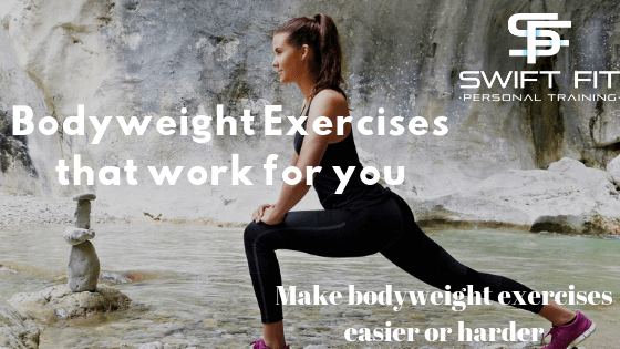 Bodyweight exercises that work for you