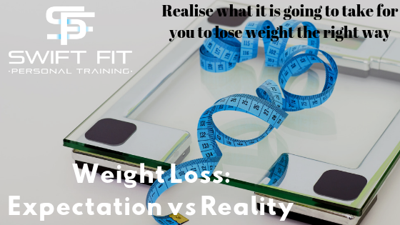 Weight Loss expectation vs reality