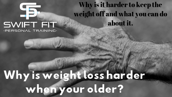 Weight loss harder when older