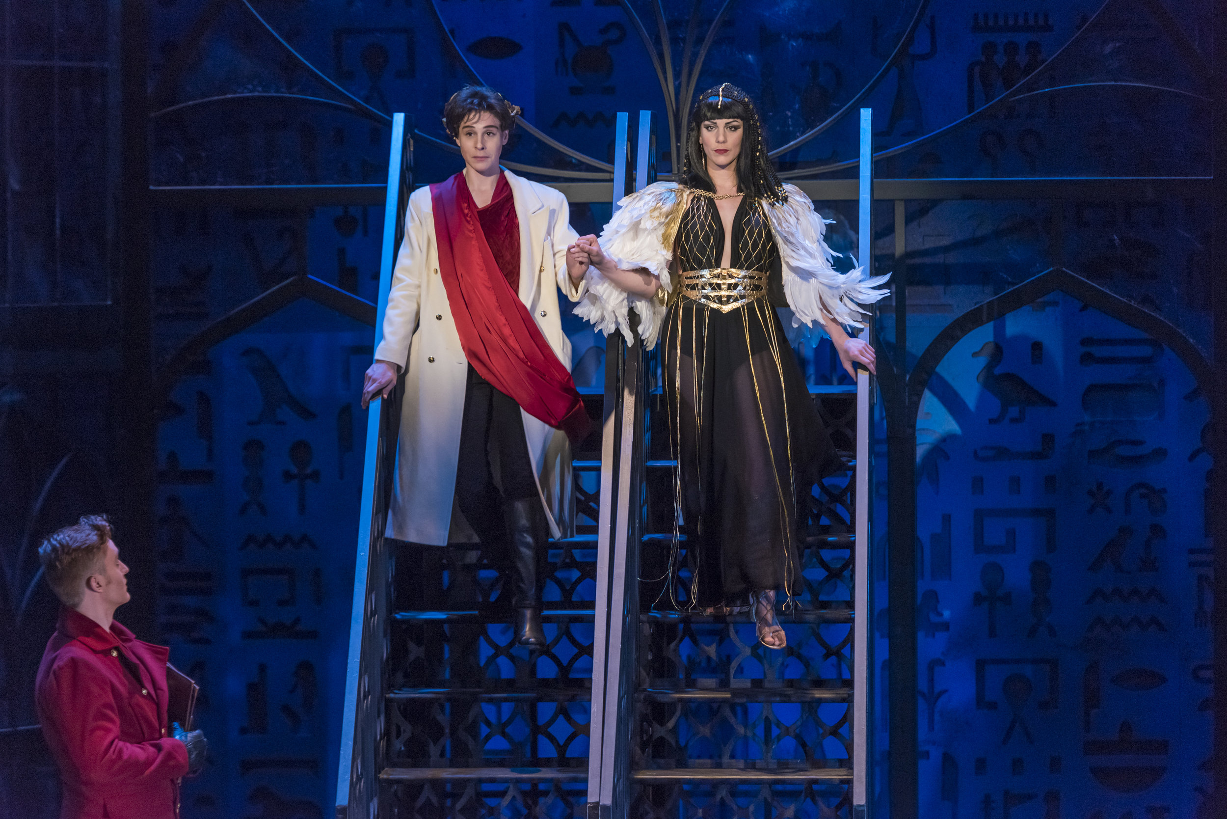 Cleopatra in Giulio Cesare, Rice University Photos by Ted Washington
