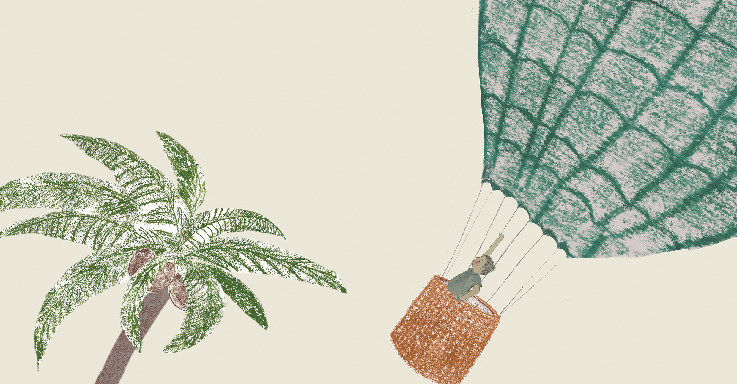hot air balloon and palm tree with Markus-double page. rgb.jpeg
