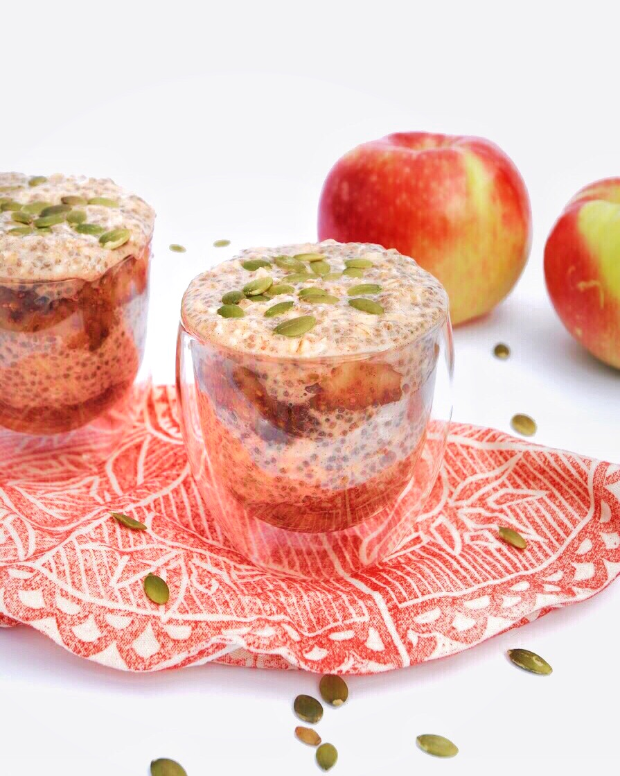 Apple jam and chia pudding - Foody First