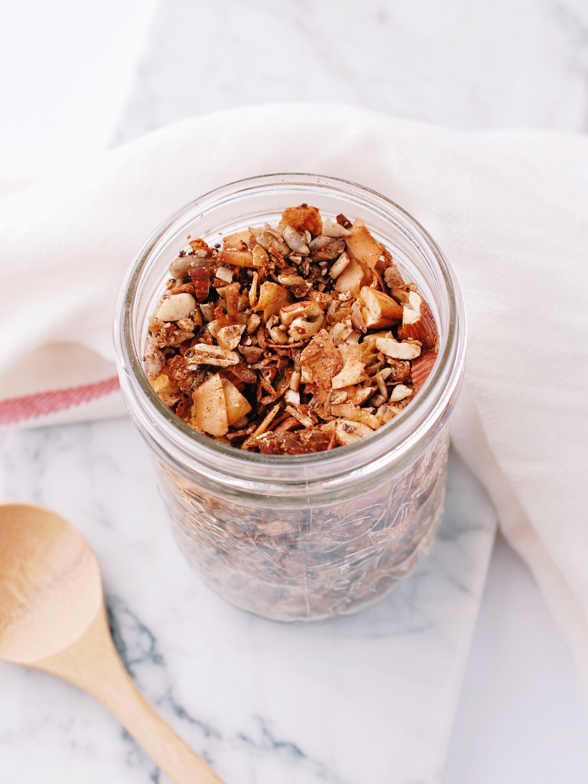 Chai-Spiced Grain-Free Granola With Sugar-Free Option - Foody First
