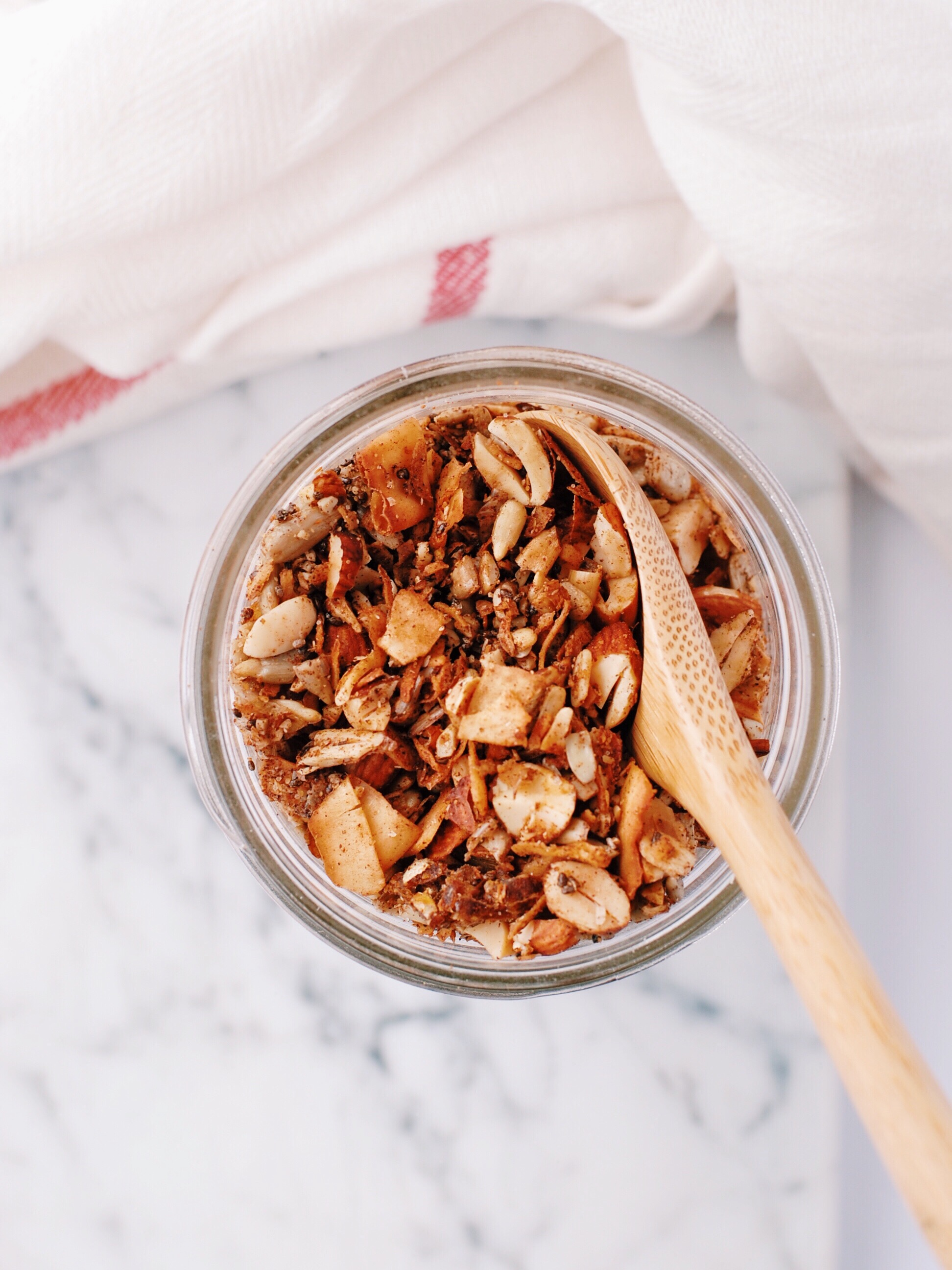 Sugar and Grain-Free Granola - Foody First