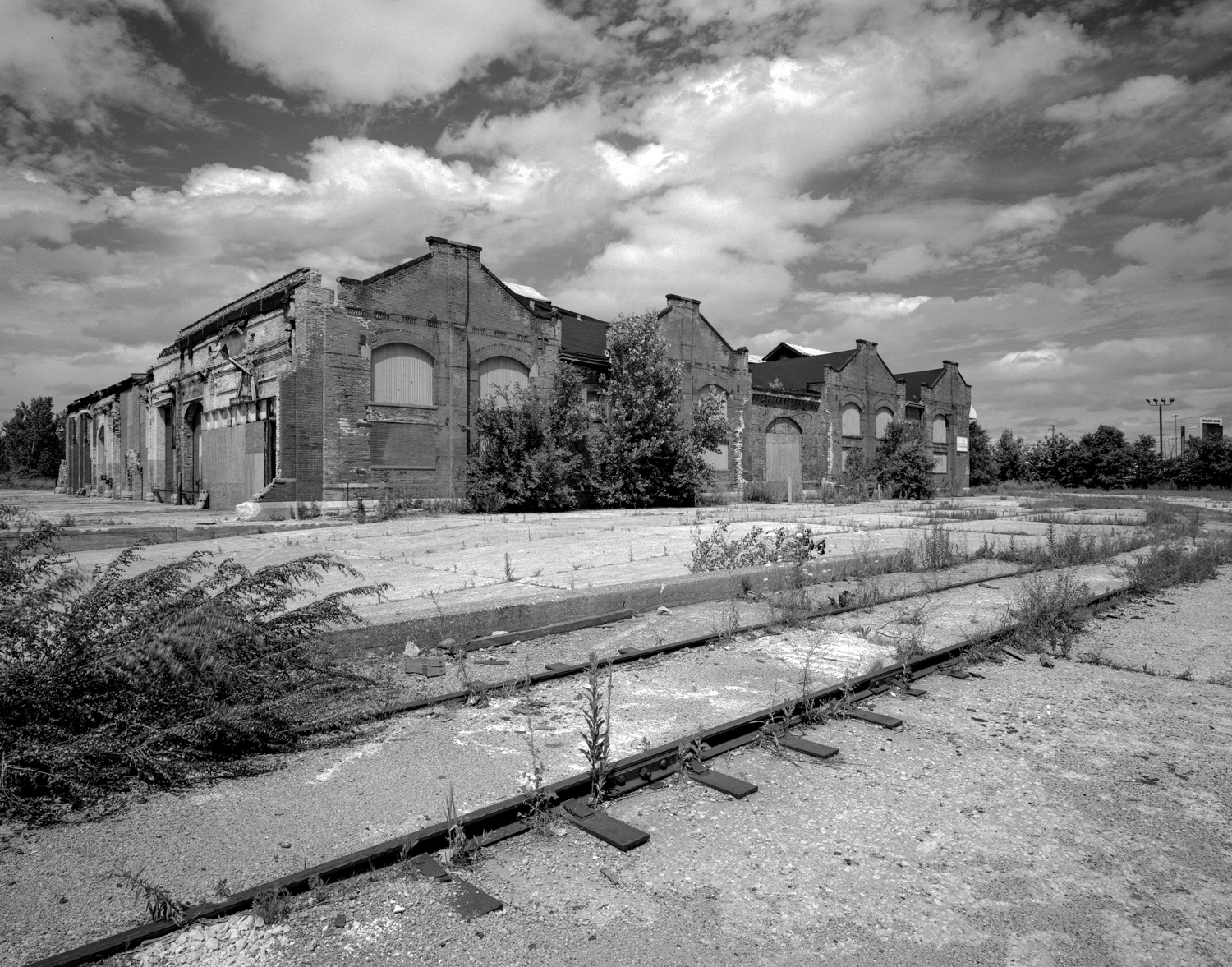 Pullman Factory, Ghost tracks ©2000
