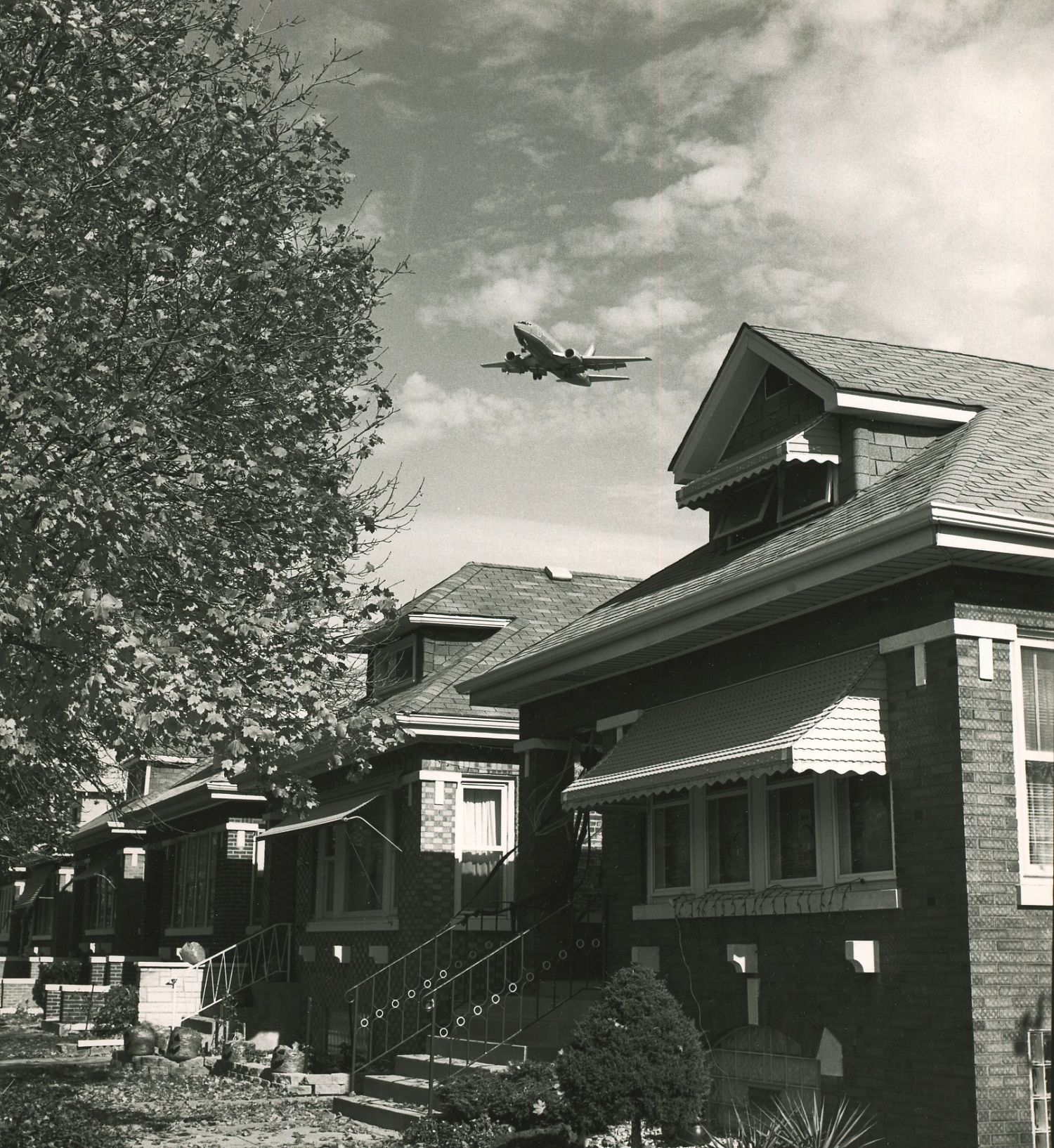 Over the Chicago Bungalows