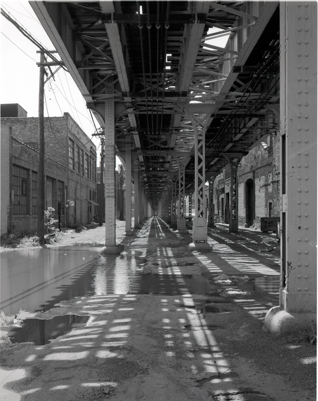 Under the El 18th Street Chicago