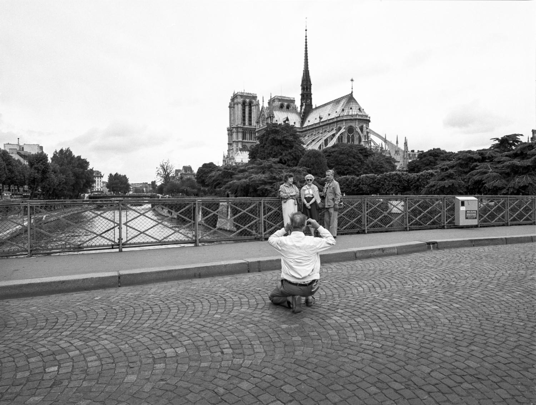 Tourist Paris 1985