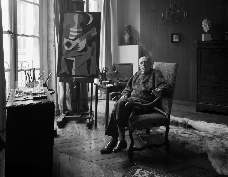 Artist Leon Gischia Paris 1985