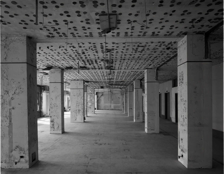 Loft Sace with Polka Dots Transportation Building ©1979