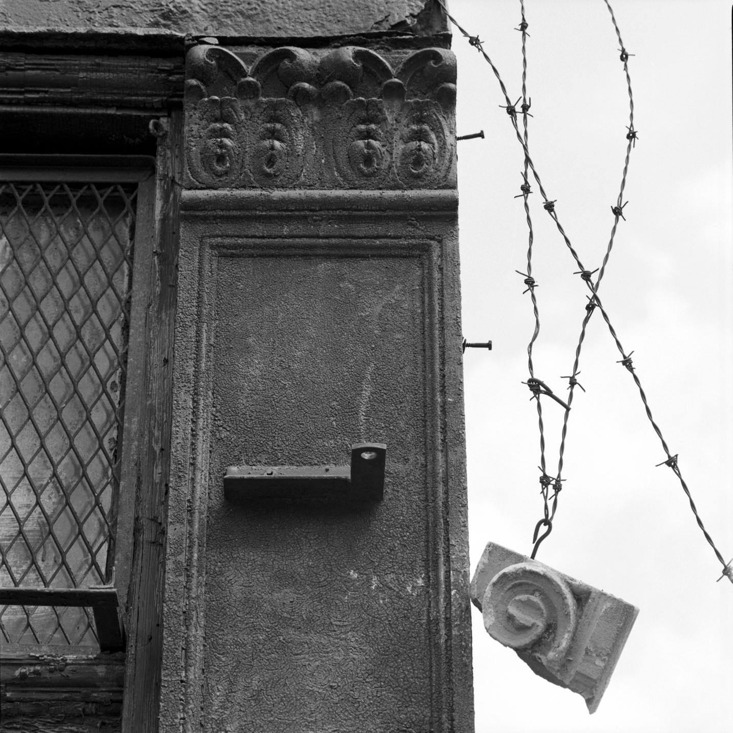 Maxwell Street with Barbed Wire 1996