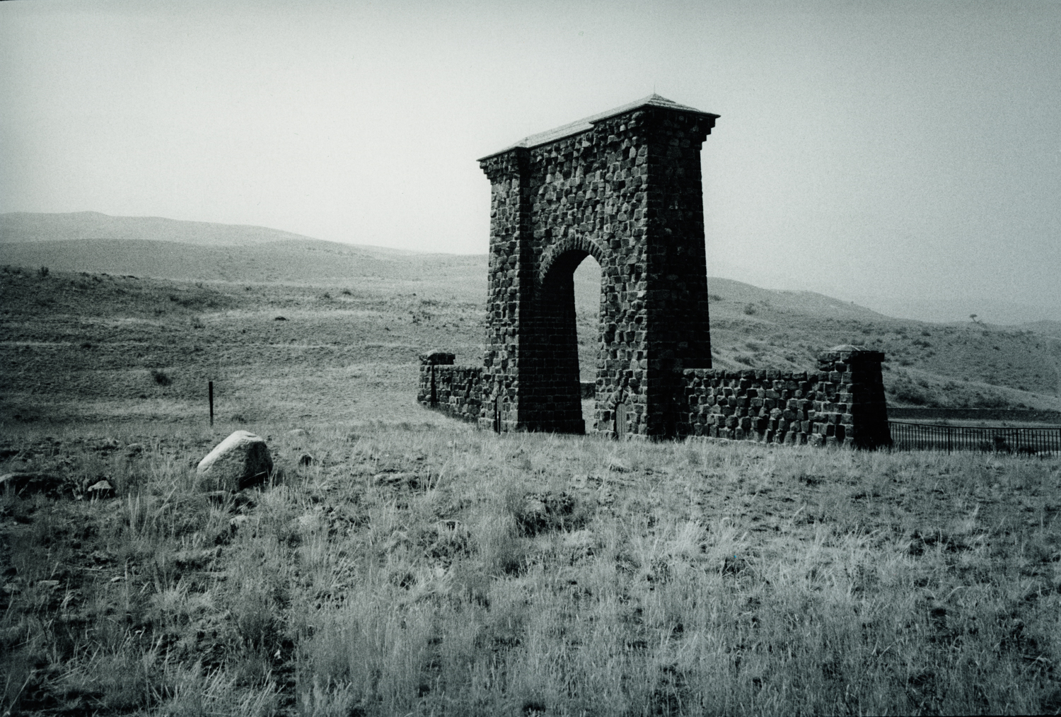 Gate at Yellowstone National Park 1989