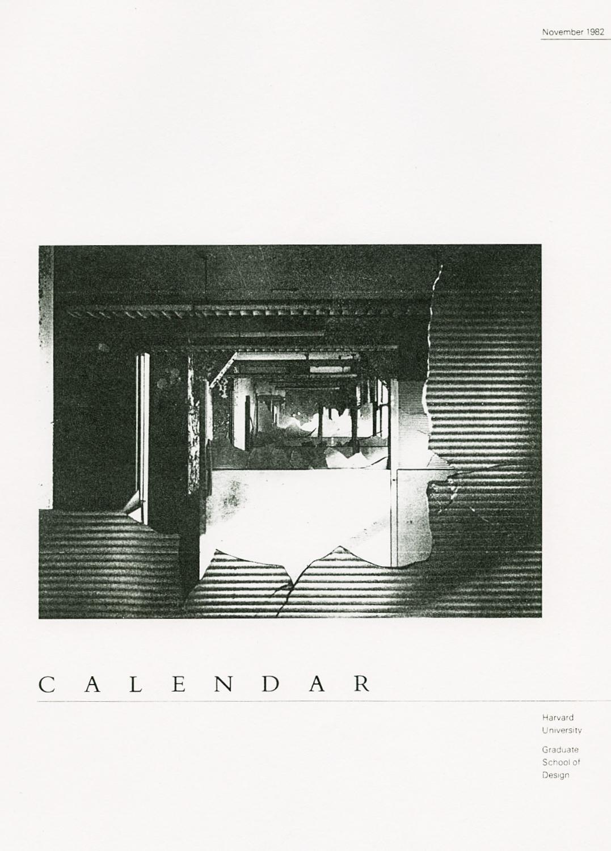 Harvard Graduate School of Design Exhibition 1982