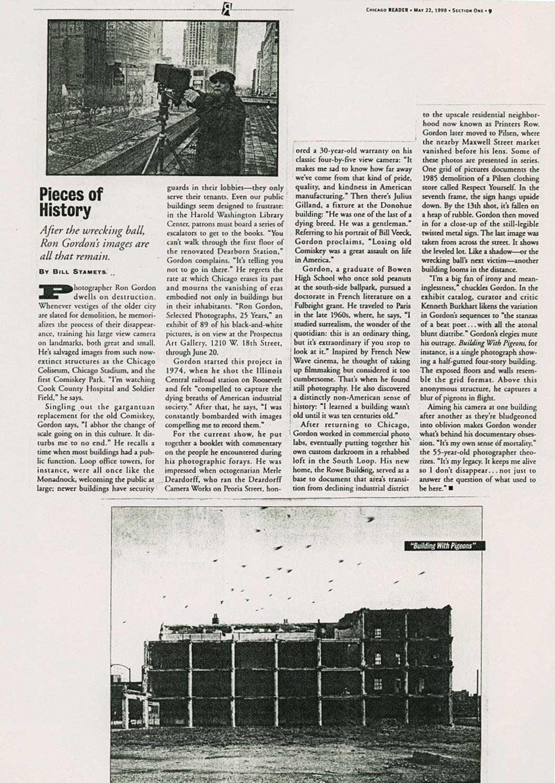 Chicago Reader 1998