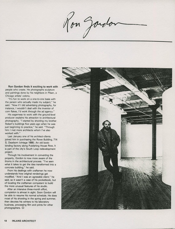 Inland Architect 1978