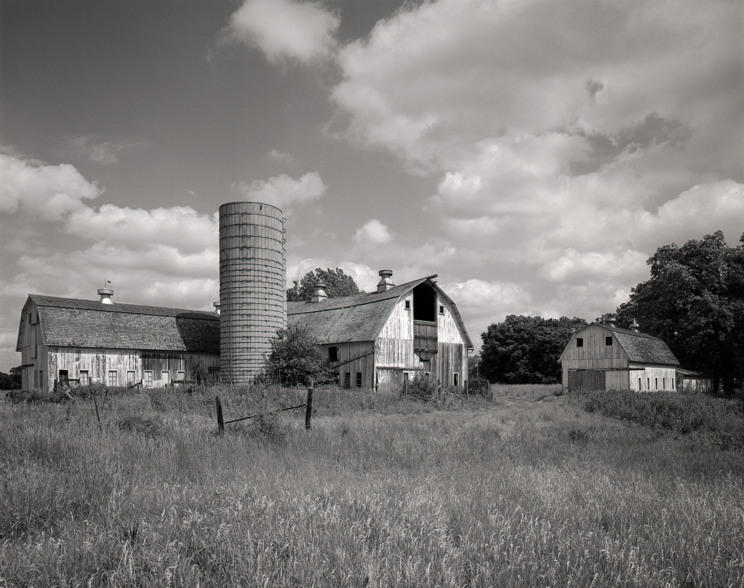 Burks Rueckert Barn and Silo Illinois 2001