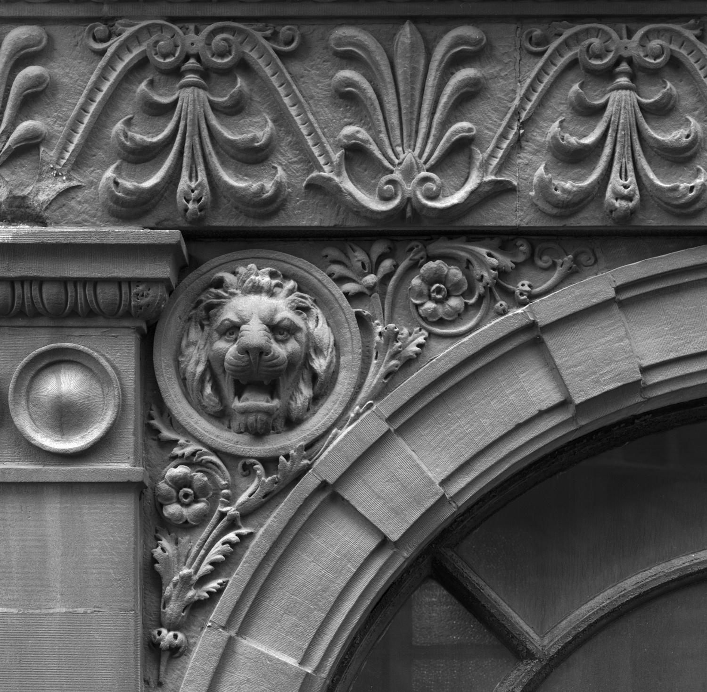 Morton Building Lion 1985