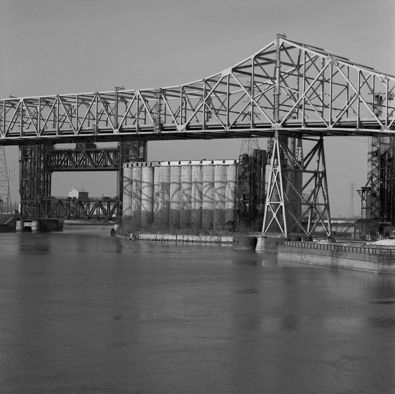 Chicago Skyway, Lift Bridge and Grain Elevators 1999